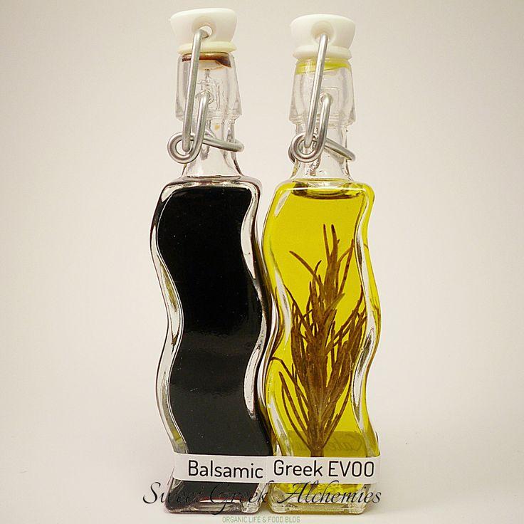 Greek EVOO & Italian Balsamic Vinegar, a harmony connection