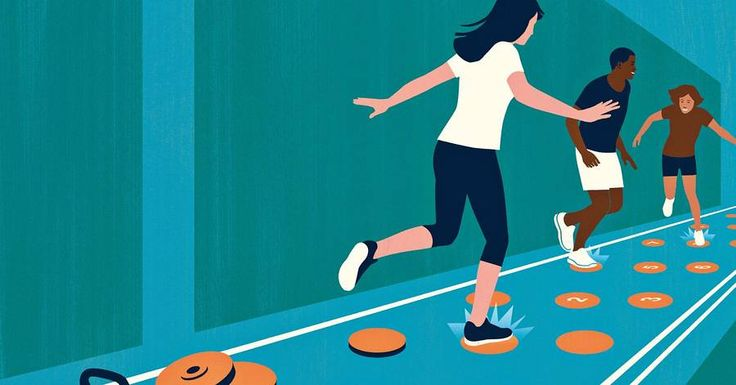 People who work out alone give up the soonest. But a new trend—retro classes that turn fitness into competitive group games—is helping Americans play the pounds away and keep coming back for more.