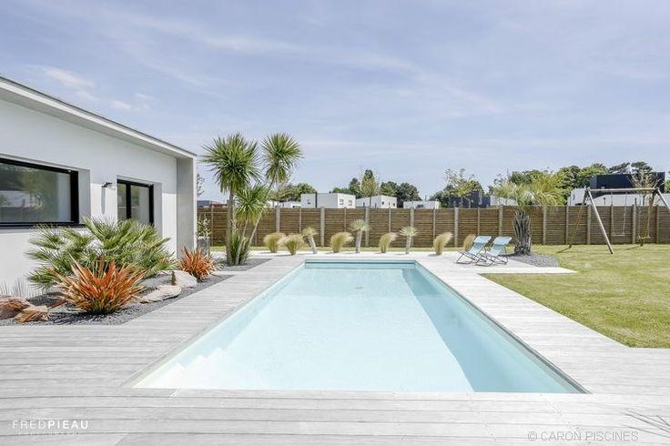 Le bonheur en été ! #piscine #Caron #jardin #pool #detente