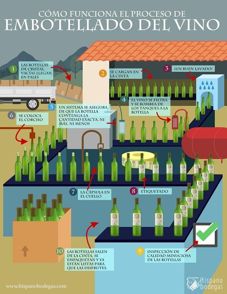 Cómo Funciona El Proceso De Embotellado Del Vino Vino Vinos Y Quesos Elaboracion Del Vino