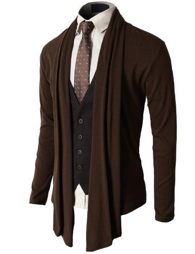 H2H Mens Fashion Shawl Cardigan with Shirring Neck Line BROWN Asia XL (JNSK37) H2H,http://www.amazon.com/dp/B00GQSIJYY/ref=cm_sw_r_pi_dp_.hiUsb0Q7E35NQ19