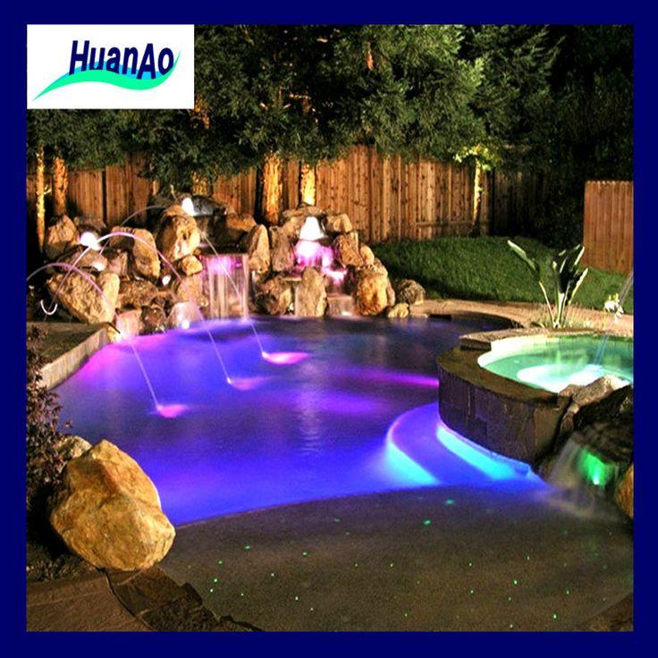LED Outdoor Fountain | al aire libre llevó la luz interior las características del agua de ...