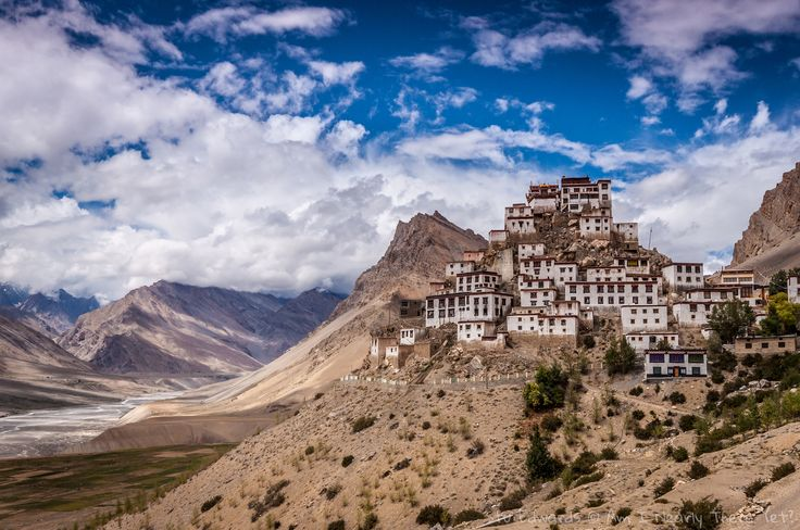 Breathtaking Ki Monastery in India's remote Spiti valley #India #Ki #Spiti