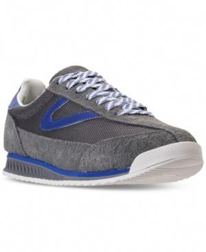 Tretorn Men s Rawlins 2 Casual Sneakers from Finish Line - Gray 9 ... 40a4cea030e