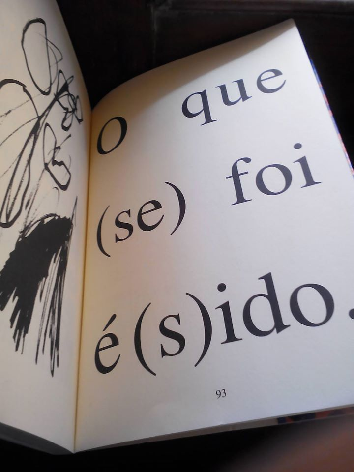 Poema de Arnaldo Antunes, em As Coisas. Ilustração de Rosa Moreau Antunes.