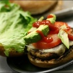 Mexican Black Bean Spinach Burger. I really want to try this!