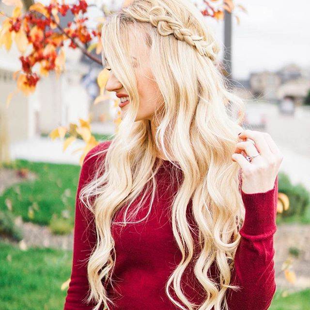 Top 100 boho hairstyles photos Happy Sunday y'all!! 🐥 We are having our morning coffee then off to church! (Link to this hairstyle tutorial in my bio!) See more http://wumann.com/top-100-boho-hairstyles-photos/