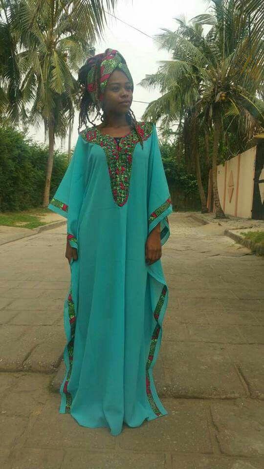 Boubou ethnique j'adore!!!