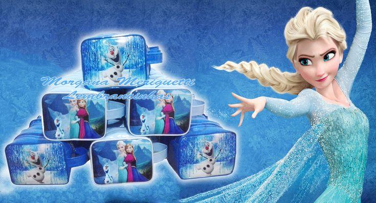 Frozen ( Necessaire lancheira ) | Morgana Meriguetti | Elo7