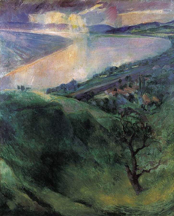 Szőnyi, István (1894-1960) - The Danube Bend at Zebegény, 1927