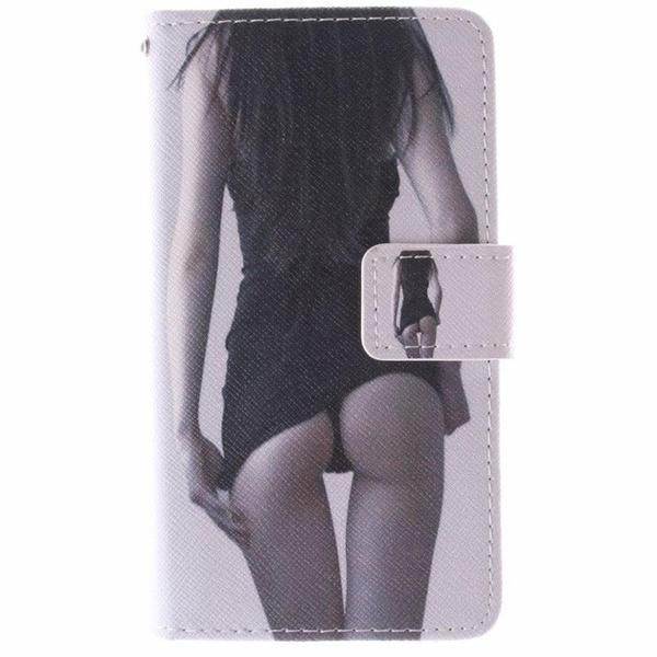 Flip Case For Samsung Galaxy Alpha Case Leather Wallet + Silicone