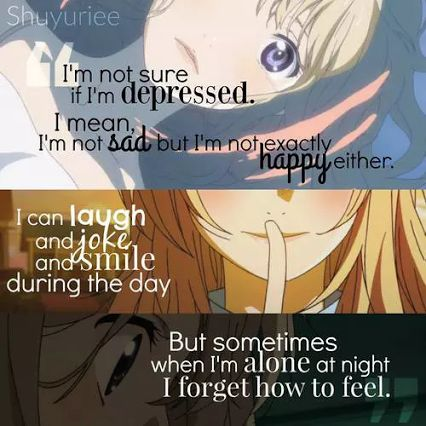 your lie in april anime quotes - Google Search <<<This describes me. I don't get it!!!!!