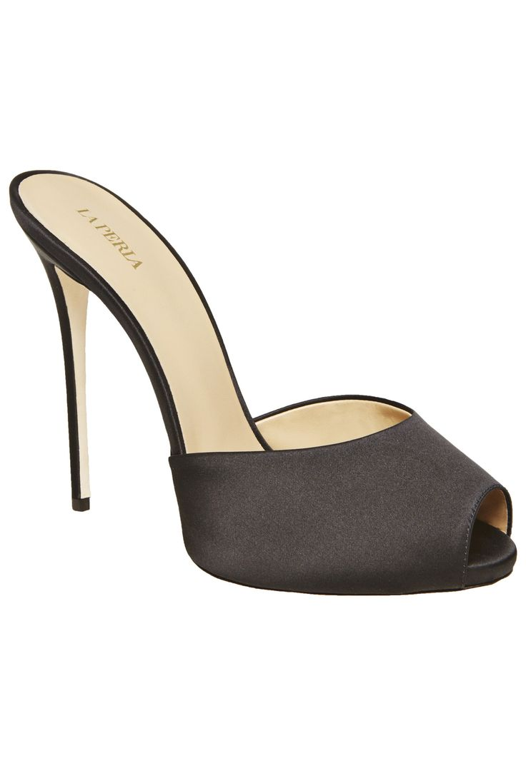 LA PERLA   HIGH HEEL  #laperlalingerie #lingerie  SCARPE HIGH HEEL $ 675.00?  ? I did not know they made shoes :)