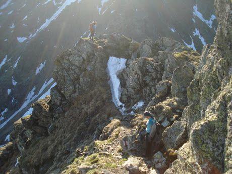 Custura Sărății, Fagaraș Mountains