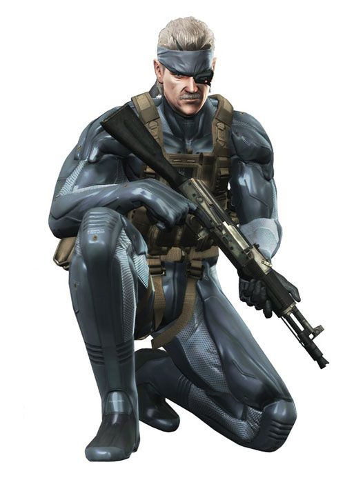 Solid Snake - Metal Gear Solid 4