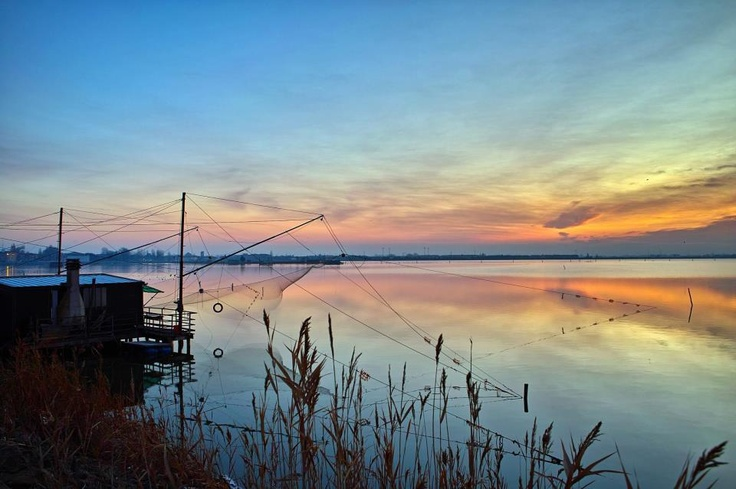The UNESCO Po Delta Park, one of the most important wetland & biodiversity zones in Europe