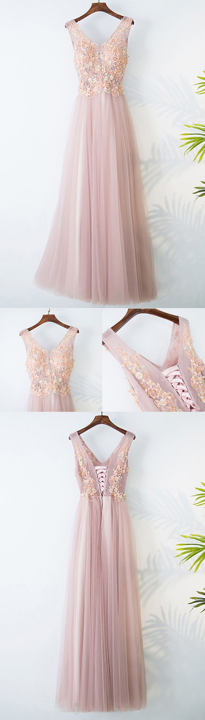 Only $118, Gorgeous Pink Tulle Long Prom Dress Lace Sleeveless #MYX18012 at #SheProm. SheProm is an online store with thousands of dresses, range from Prom,Homecoming,Party,Pink,A Line Dresses,Long Dresses,Customizable Dresses and so on. Not only selling formal dresses, more and more trendy dress styles will be updated daily to our store. With low price and high quality guaranteed, you will definitely like shopping from us.