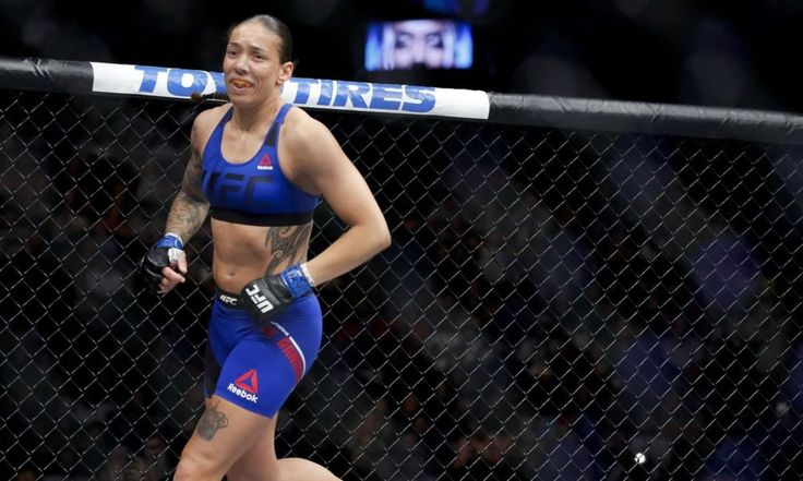 Despite wanting rematch with Holly Holm, Germaine de Randamie says she's not running from Cyborg