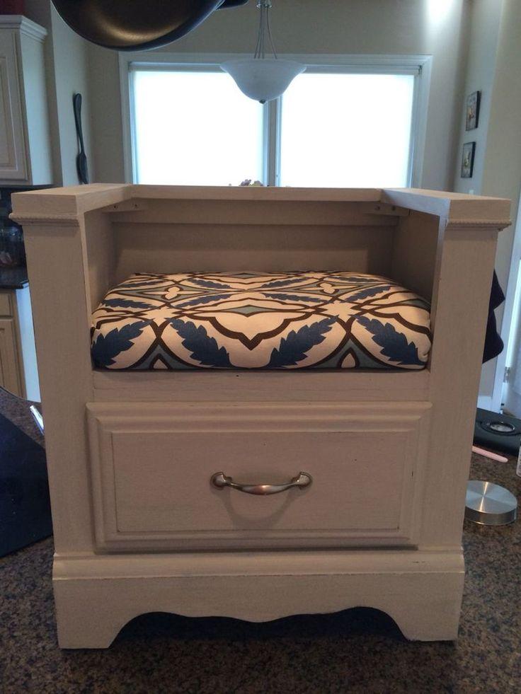 39 Diy Ideas Of Reusing Old Furniture Furniture Repurposed Furniture Diy Nightstand