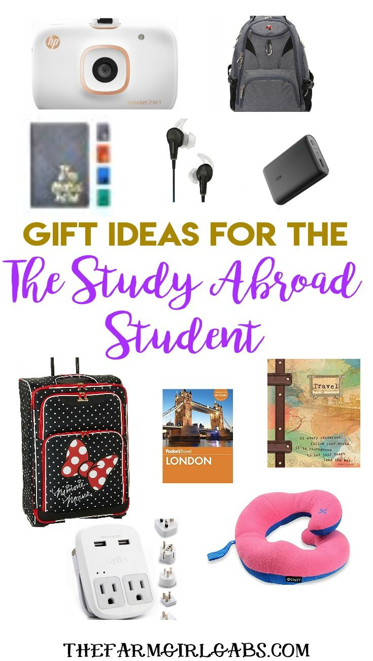 Looking For A Gift Idea For Your College Student Planning To Study Abroad I Have Some Fun Stylish And Pra Study Abroad Gifts Travel Abroad Gifts Study Abroad