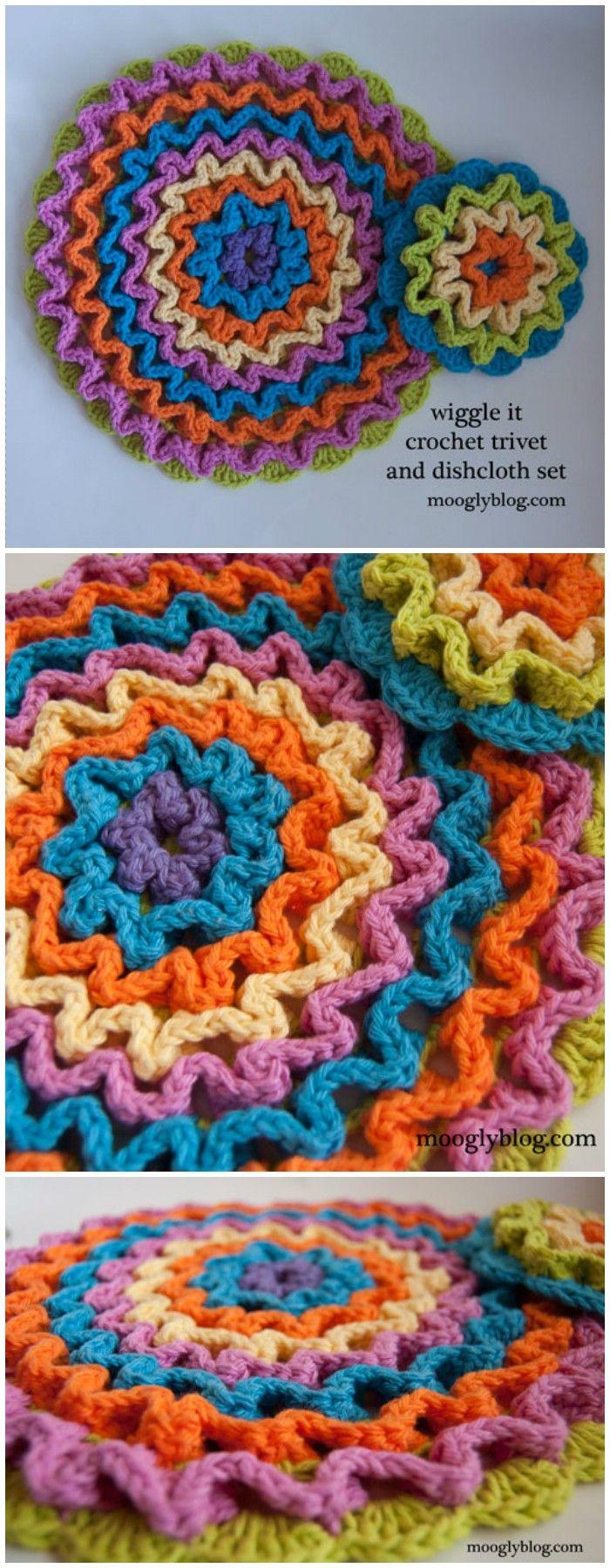 Magnificent Häkeln Fisch Dishcloth Muster Composition - Decke ...