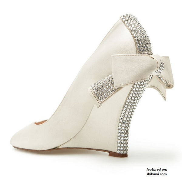 Cerise Wedding Shoes