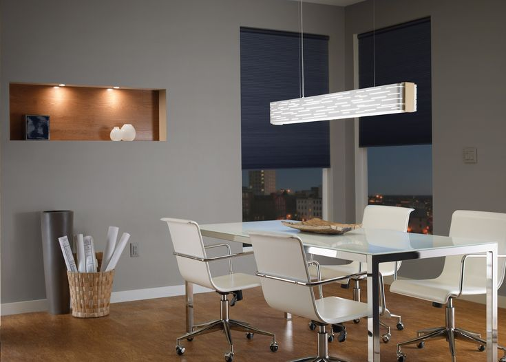 Revel Linear Suspension By Tech Lighting Suspensionlighting Diningroom