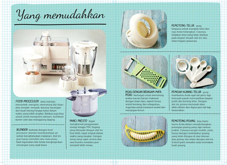 Peralatan masak yang memudahkan :: Items you need to cook easier