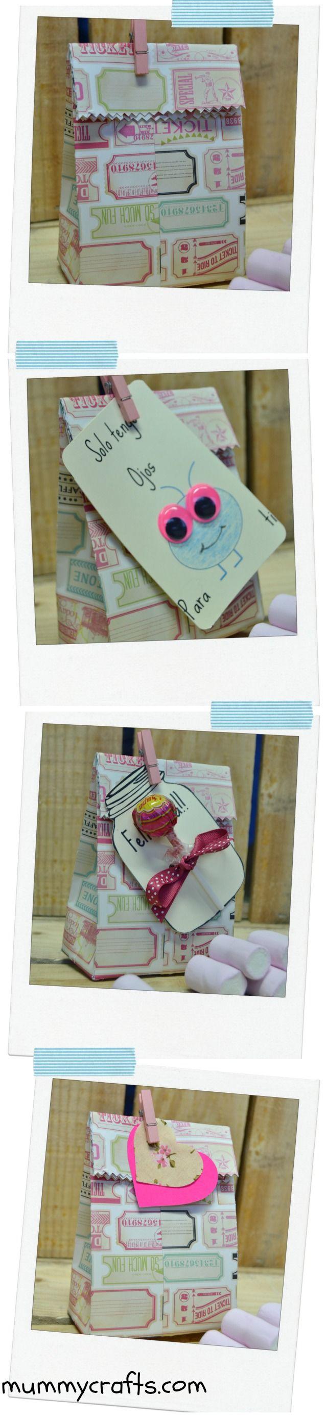 Cómo hacer una bolsa de papel para regalos