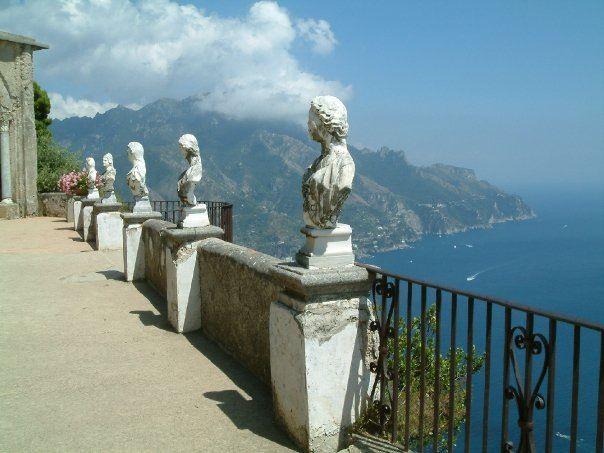 View from Villa Cimbrone, Ravello, Italy. 2004