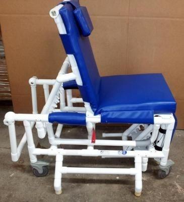 MJM PVC Geri Chair Patient Transport Shower System