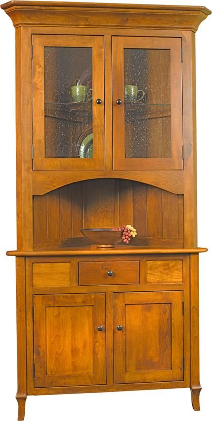 Corner Hutch Kitchen Curtains Ikea Amish Jacob Martin | М. УГЛОВОЙ СЕРВАНТ/ ШКАФ ...