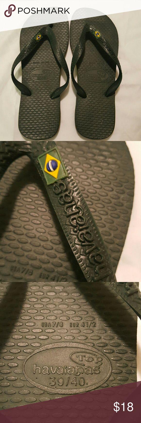 HAVAIANAS Brasil  flip flops Made in Brazil size 7/8 Havaianas Shoes Sandals & Flip-Flops