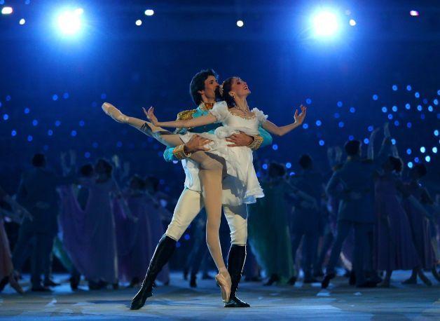 Las estrellas del ballet ruso en la inauguración de los JJOO Sochi 2014