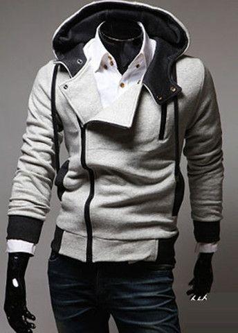 Modern Hat Design Sweats with Side Zipper – teeteecee - fashion in style