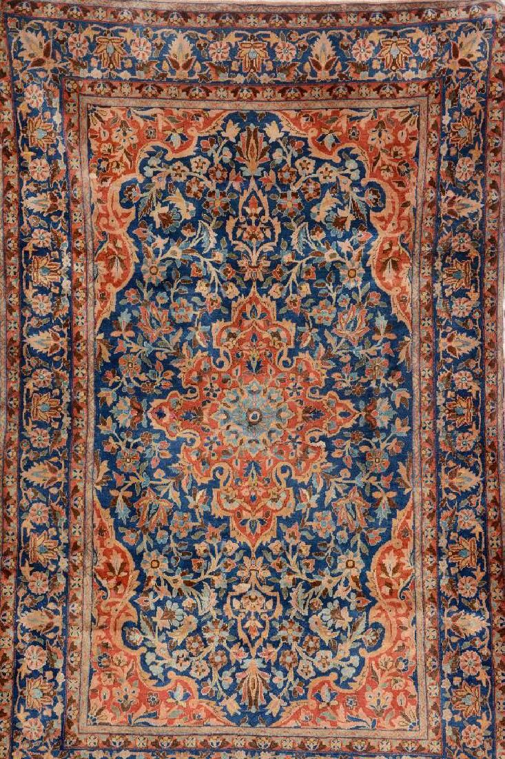 Manchester Kurk Kashan,, Manchester Kurk Kashan, Persia, late 19th century, wool/cotton, approx. 205 x 133 cm