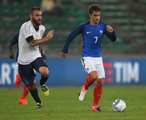 Italia-Francia 1-3, analisi e pagelle: Ventura subito KO - http://www.maidirecalcio.com/2016/09/01/italia-francia-1-3-tabellino-pagelle.html