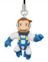 Takara Tomy Curious George Figure Strap 15 Tall  George in Space Suit >>> Check this awesome product by going to the link at the image.