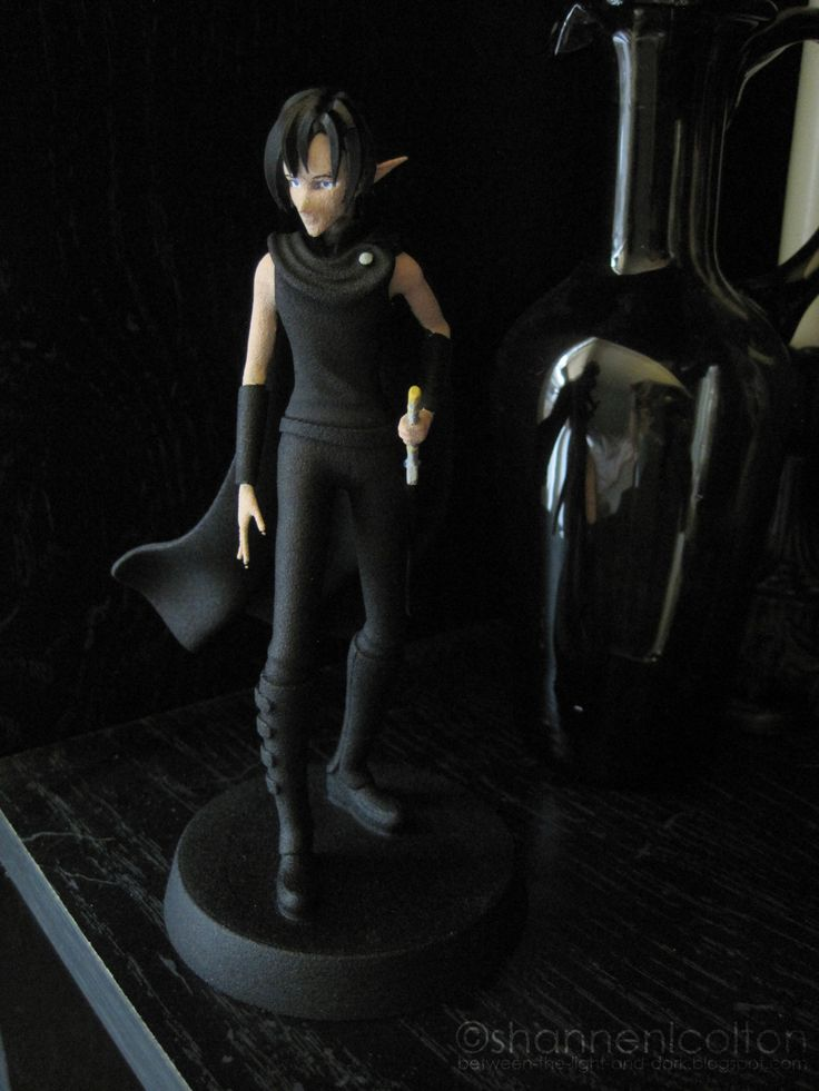3D-printed figure of Vekter