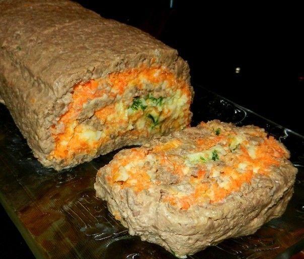 ПЕЧЕНОЧНЫЙ РУЛЕТ   Самые вкусные кулинарные рецепты
