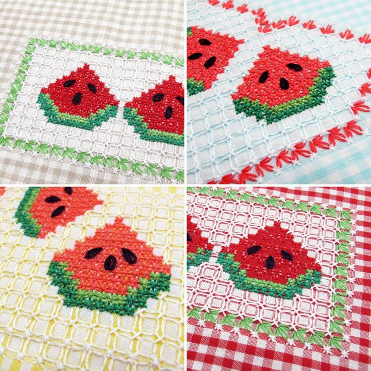 Gingham-Embroidery-Watermelon-02