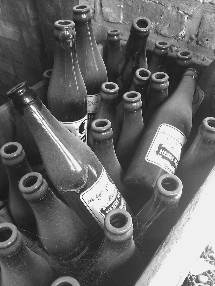 Old Beer Bottles (Brewery de Halve Maan)