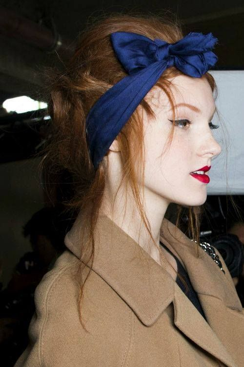 Look fabulous with a colourful headband!