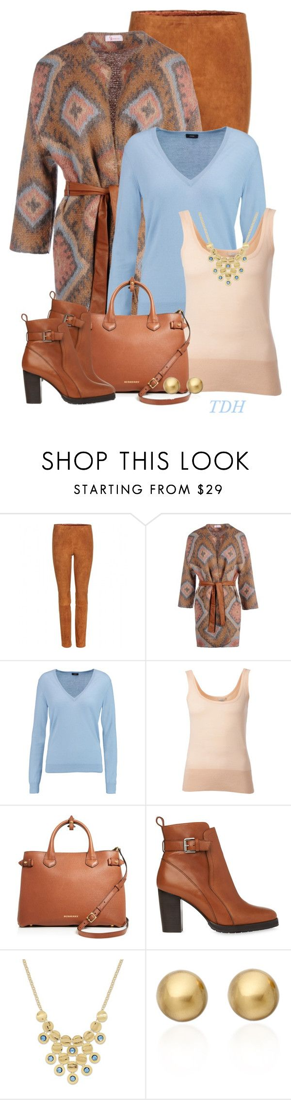 """""""Cardigan & Leggings"""" by talvadh ❤ liked on Polyvore featuring STOULS, George J. Love, Joseph, Michael Kors, Burberry, Whistles, Style & Co., Astley Clarke, women's clothing and women's fashion"""
