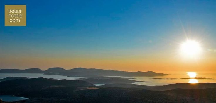 #Sunsets have the power to silence crowds and stir the emotions. Enjoy the breathtaking sunset in #Astypalaia..