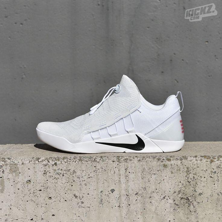 Schuhe Nike Kobe Bryant AD NXT FlyKnit Zoom Rot Weiß Silber Einzigartig Designed