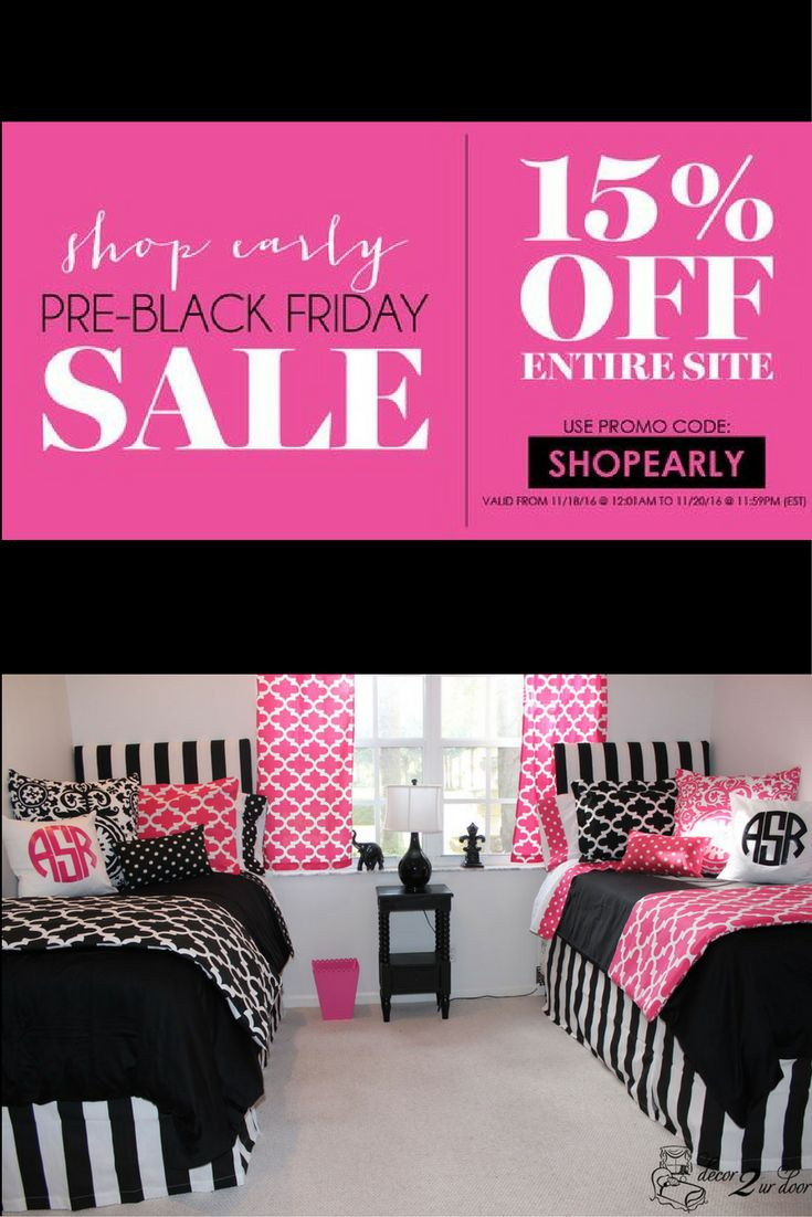 our biggest sale of the year hurry shop now decor 2 ur door room makeovers monogram pillows sorority decor wall decor and more - Door Room Ideas
