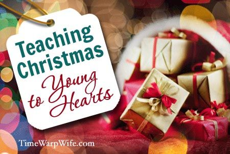 Great blog post that helps parents teach their children the symbolism behind Christmas.