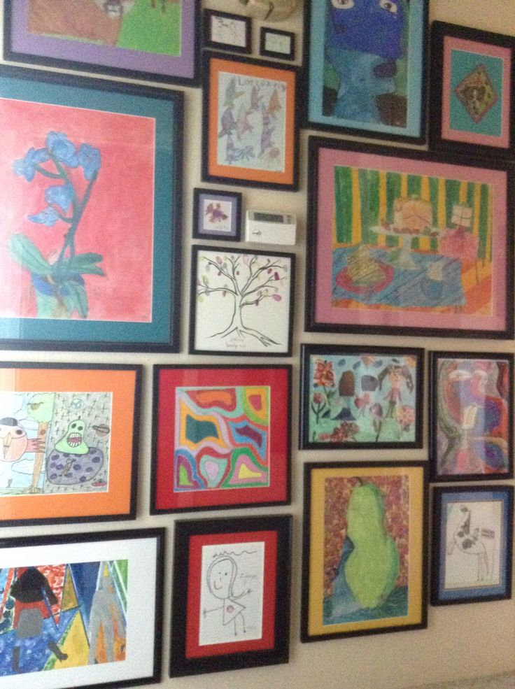 Our drawing wall