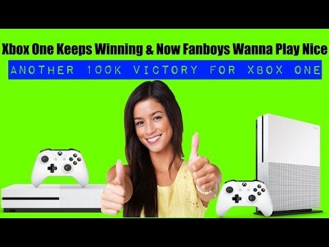 Xbox One Crushed The PS4 In Sales By 100k AGAIN! Funny How Fanboys Wanna...
